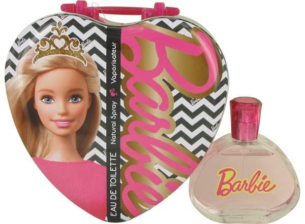 Barbie Metalic Heart Perfume