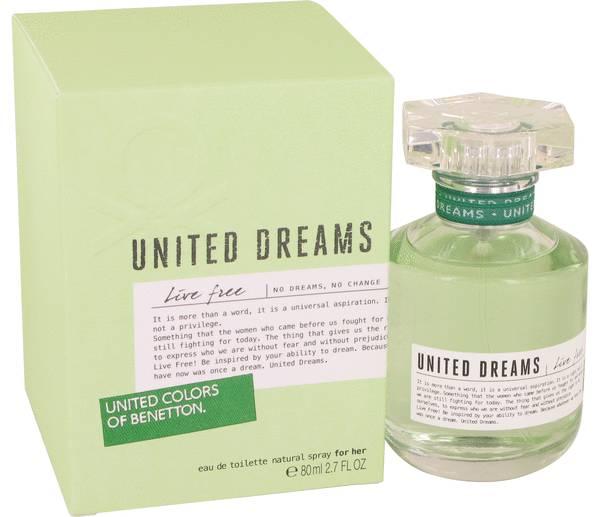 United Dreams Live Free Perfume