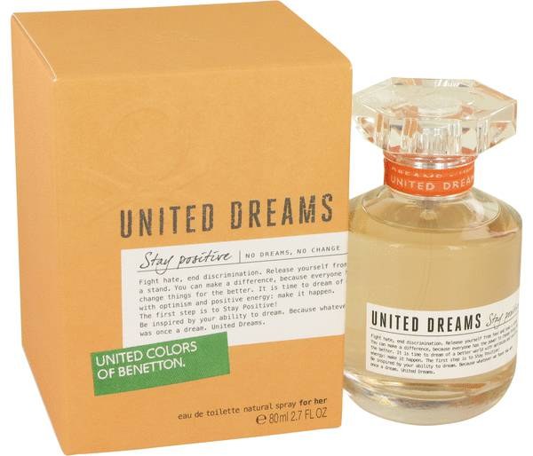 United Dreams Stay Positive Perfume