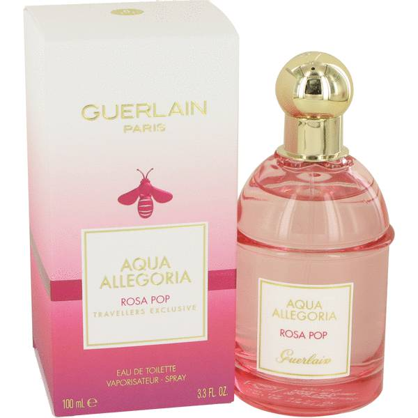 aqua allegoria rosa pop perfume for women by guerlain. Black Bedroom Furniture Sets. Home Design Ideas