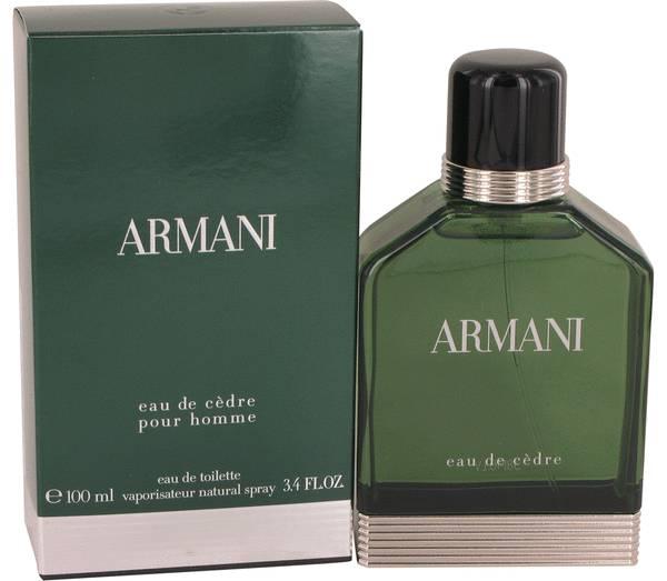 Armani Eau De Cedre Cologne