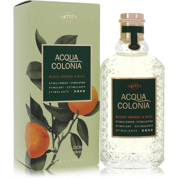 4711 Acqua Colonia Blood Orange & Basil Perfume