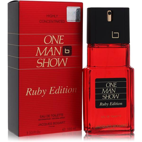 One Man Show Ruby Cologne