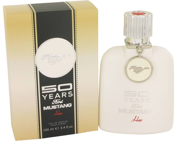 50 Years Ford Mustang Perfume