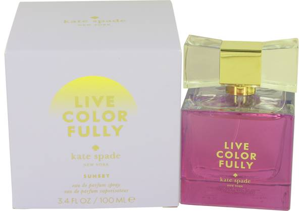 Live Colorfully Sunset Perfume