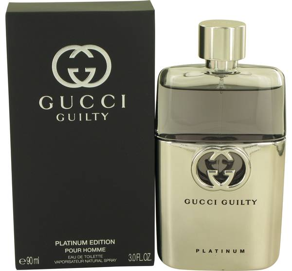 Gucci Guilty Platinum Cologne