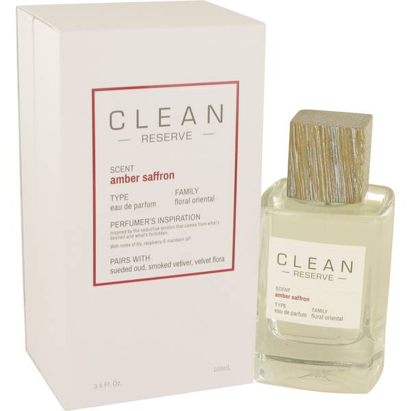 Clean Amber Saffron Perfume