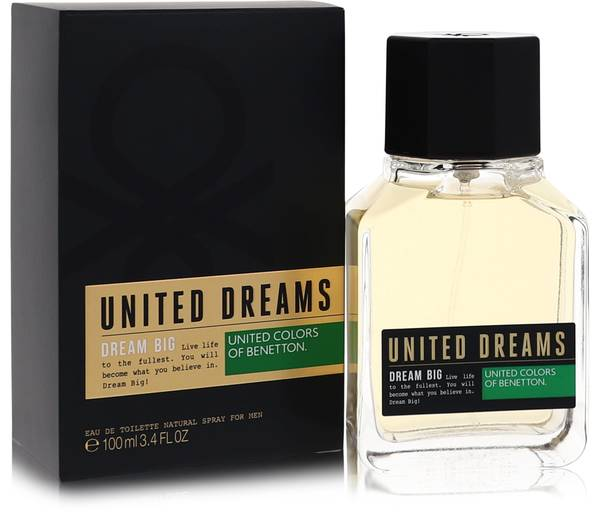 2512d500b United Dreams Dream Big Cologne by Benetton