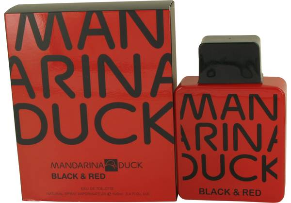 Mandarina Duck Black & Red Cologne