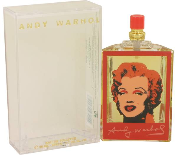 Andy Warhol Marilyn Red Perfume