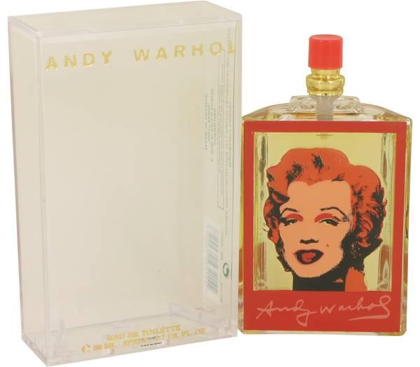 Andy Warhol Marilyn Red Perfume