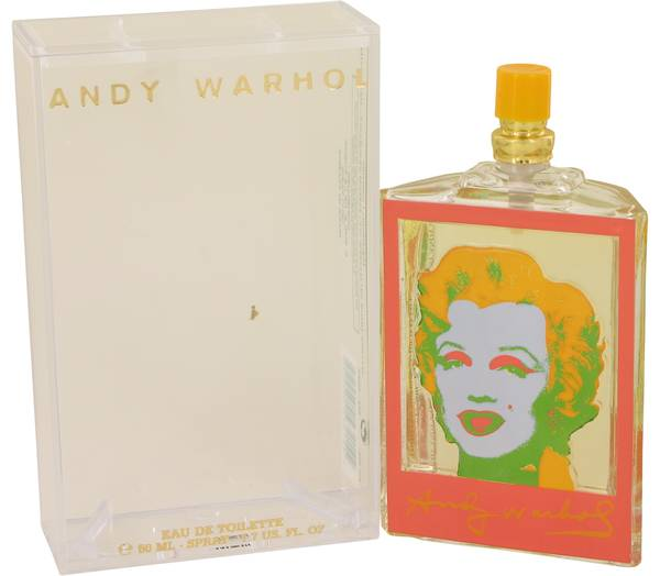Andy Warhol Orange Perfume