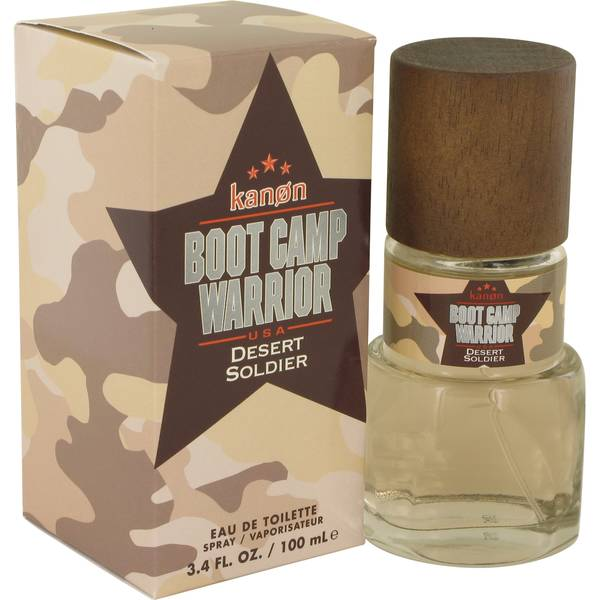 Kanon Boot Camp Warrior Desert Soldier Cologne by Kanon