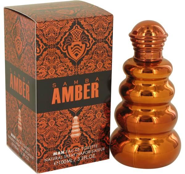 Samba Amber Cologne
