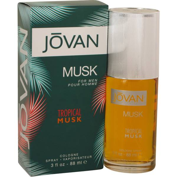 Jovan Tropical Musk Cologne