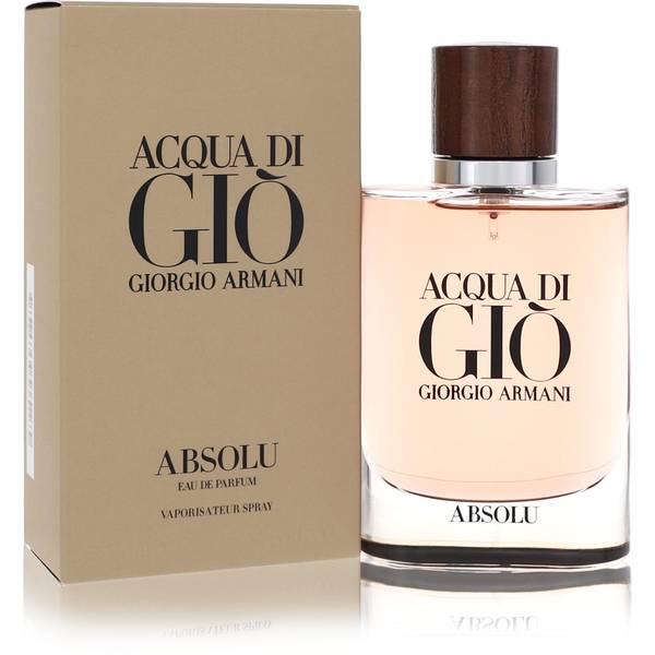 Acqua Di Gio Absolu Cologne