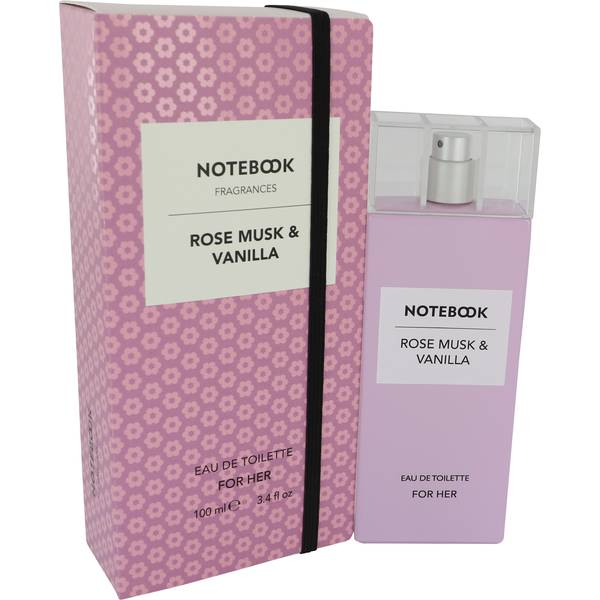 Notebook Rose Musk & Vanilla Perfume