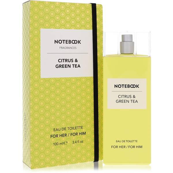 Notebook Citrus & Green Tea Perfume