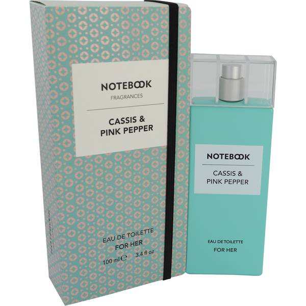 Notebook Cassis & Pink Pepper Perfume