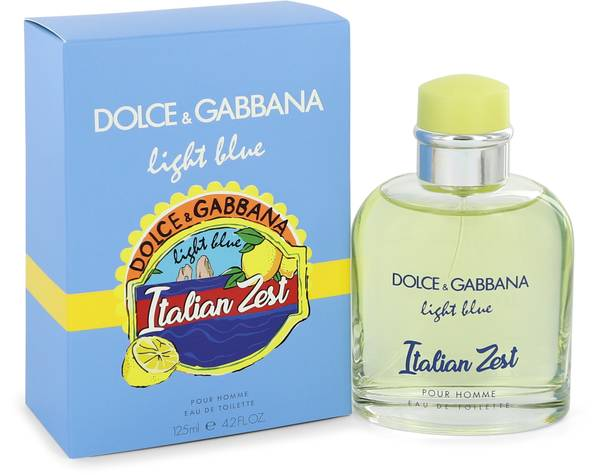 Blue Light Cologne Gabbana Zest By Men Italian Dolceamp; For oeCWdxQrBE