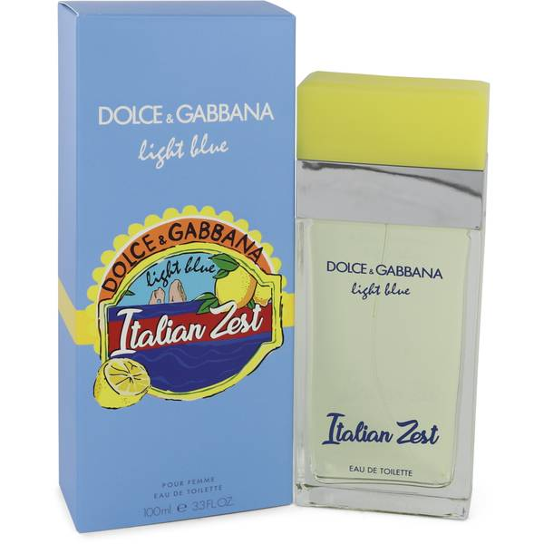 Light Blue Italian Zest Perfume By Dolce Gabbana