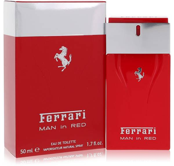 Ferrari Man In Red Cologne