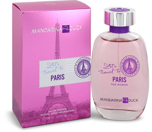 Mandarina Duck Let's Travel To Paris Perfume