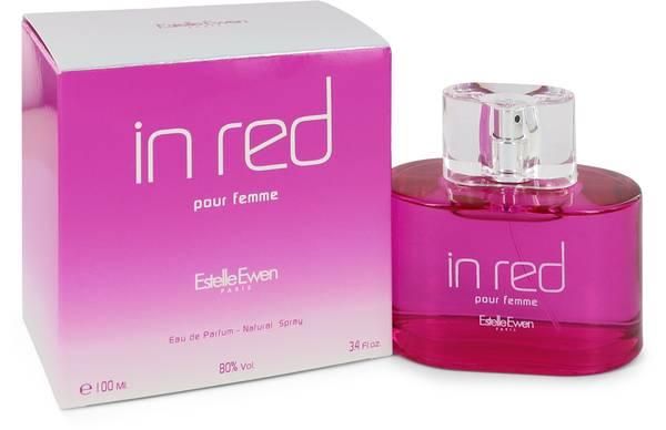 Estelle Ewen In Red Perfume