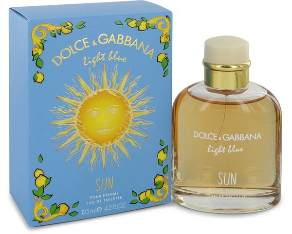 Light Blue Sun Cologne