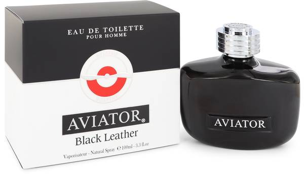 Aviator Black Leather Cologne