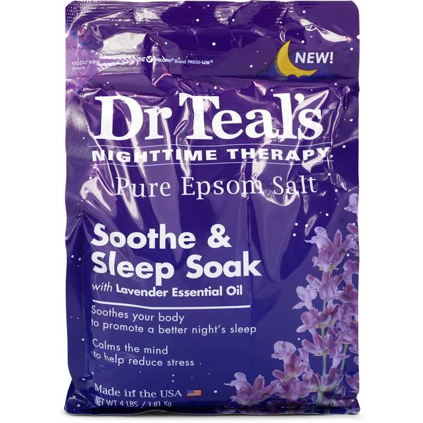 Dr Teal's Nighttime Therapy Pure Epsom Salt Cologne