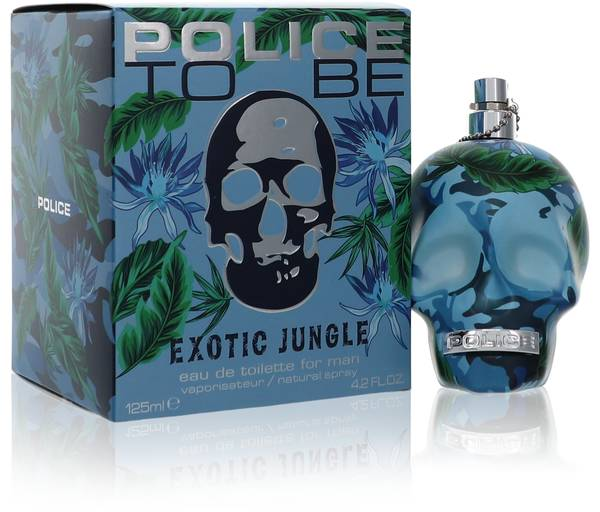 Police To Be Exotic Jungle Cologne