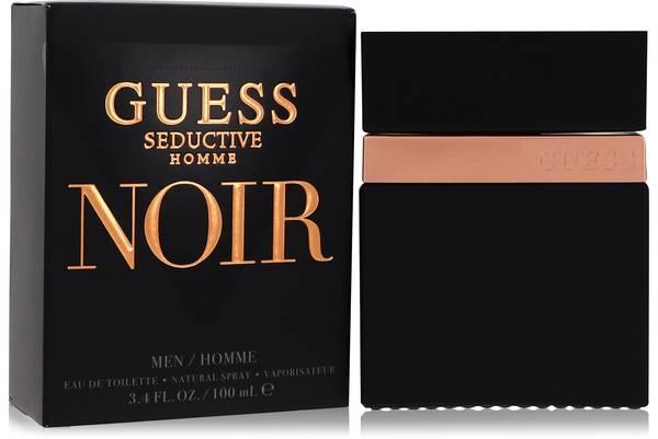 Guess Seductive Homme Noir Cologne