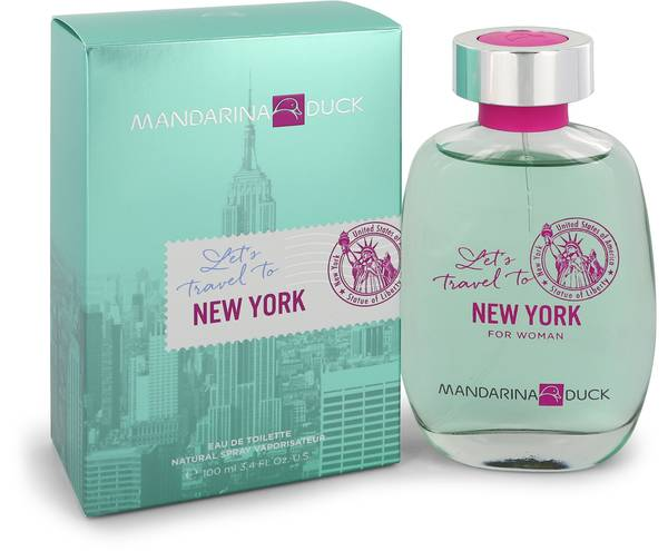 Mandarina Duck Let's Travel To New York Perfume by Mandarina Duck