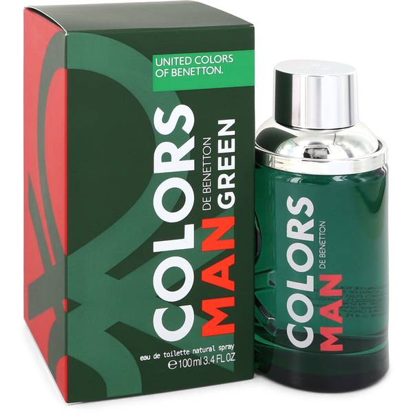 Colors De Benetton Green Cologne