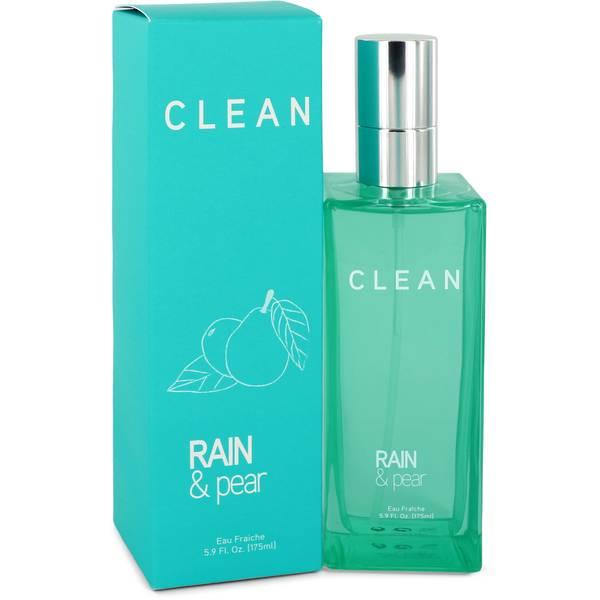 Clean Rain & Pear Perfume