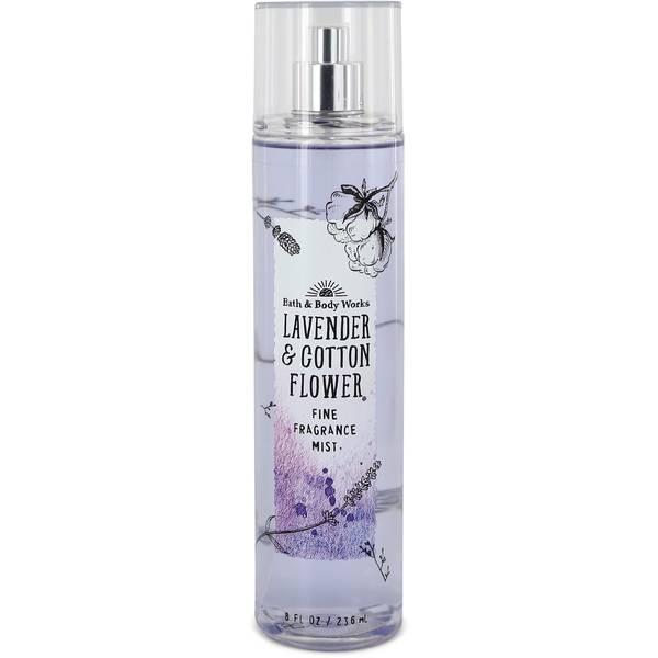Bath & Body Works Lavender & Cotton Flower Perfume