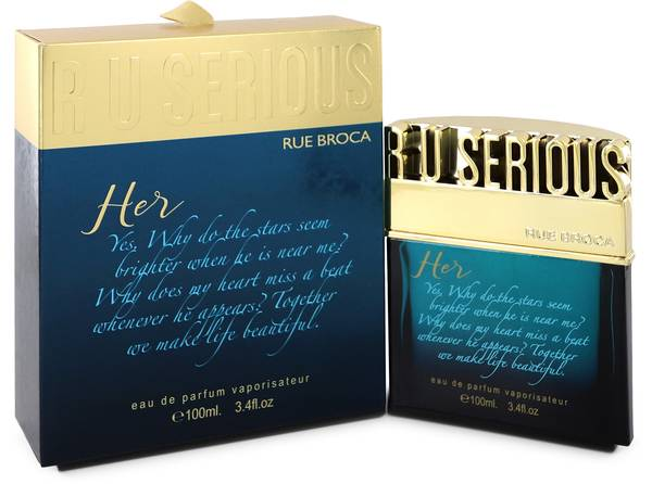 R U Serious Her Perfume by Rue Broca