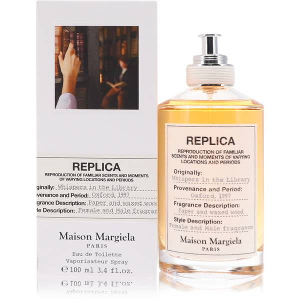 Replica Whispers In The Library Perfume by Maison Margiela