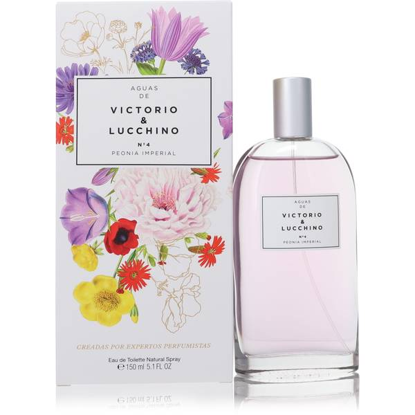 No4 Peonia Imperial Perfume by Victorio & Lucchino