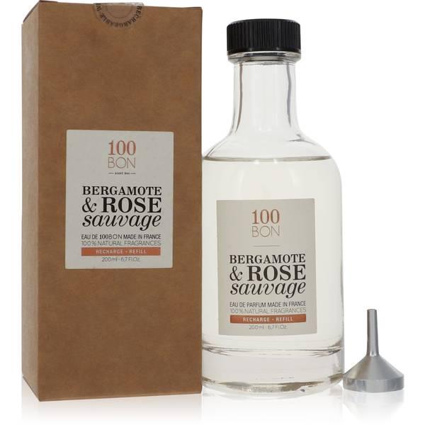 100 Bon Bergamote & Rose Sauvage Cologne by 100 Bon