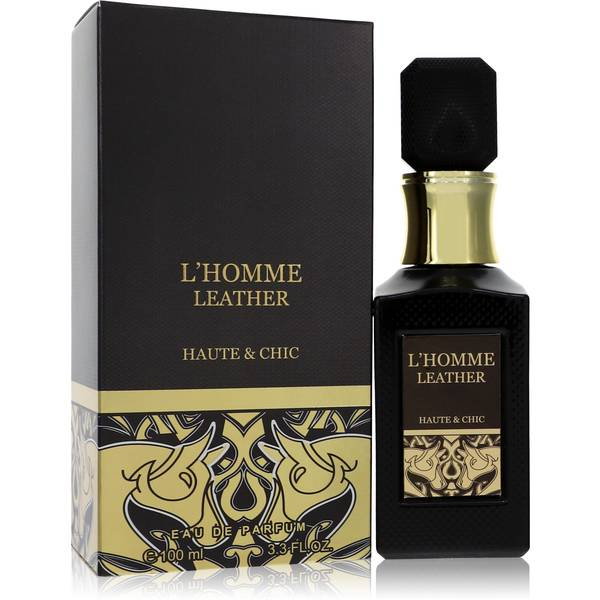 L'homme Leather Cologne by Haute & Chic
