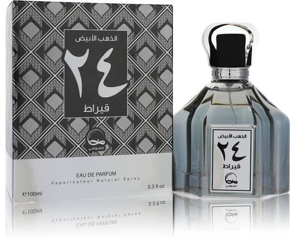 White Gold 24 Carat Cologne by Khususi
