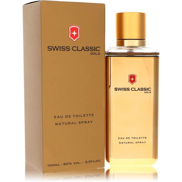 Swiss Classic Gold Cologne by Victorinox