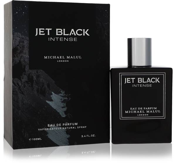 Jet Black Intense Cologne by Michael Malul