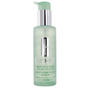 Clinique Skincare 6.7 oz Liquid Facial Soap Oily Skin Formular 6F39
