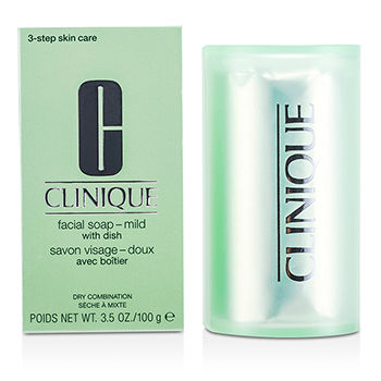 Clinique Skincare 3.5 oz Facial Soap - Mild (With Dish)