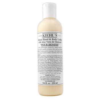Kiehl's Deluxe Hand & Body Lotion With Aloe V...
