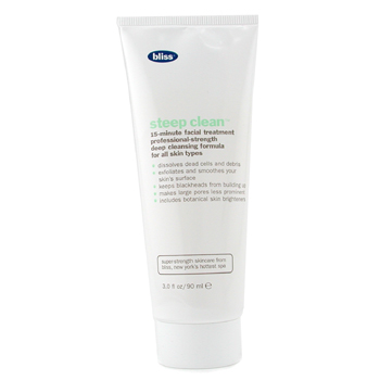Bliss Skincare 3.4 oz Steep Clean Facial Mask