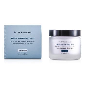 Skin Ceuticals Renew Overnight Oily (For Comb...